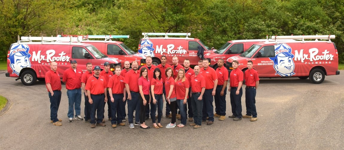 Mr. Rooter plumbing Ohio team